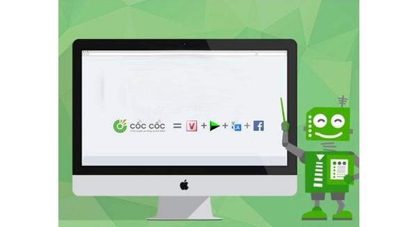 Cốc Cốc chiến thắng Google Chrome